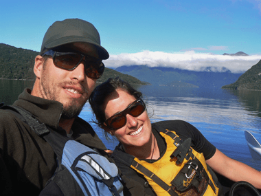 About Glacier Kayaks - Dale and Bronwyn