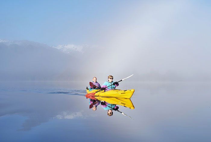 Classic Kayak Tour Family fun activities Glacier Country Kayaks