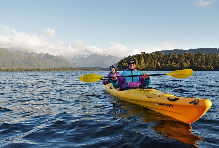Classic Kayak Tour Franz josef fun things to do Glacier Country Kayaks