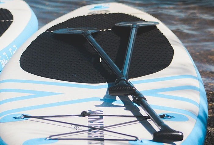 Stand Up Paddle Boarding Tours on Lake Mapourika