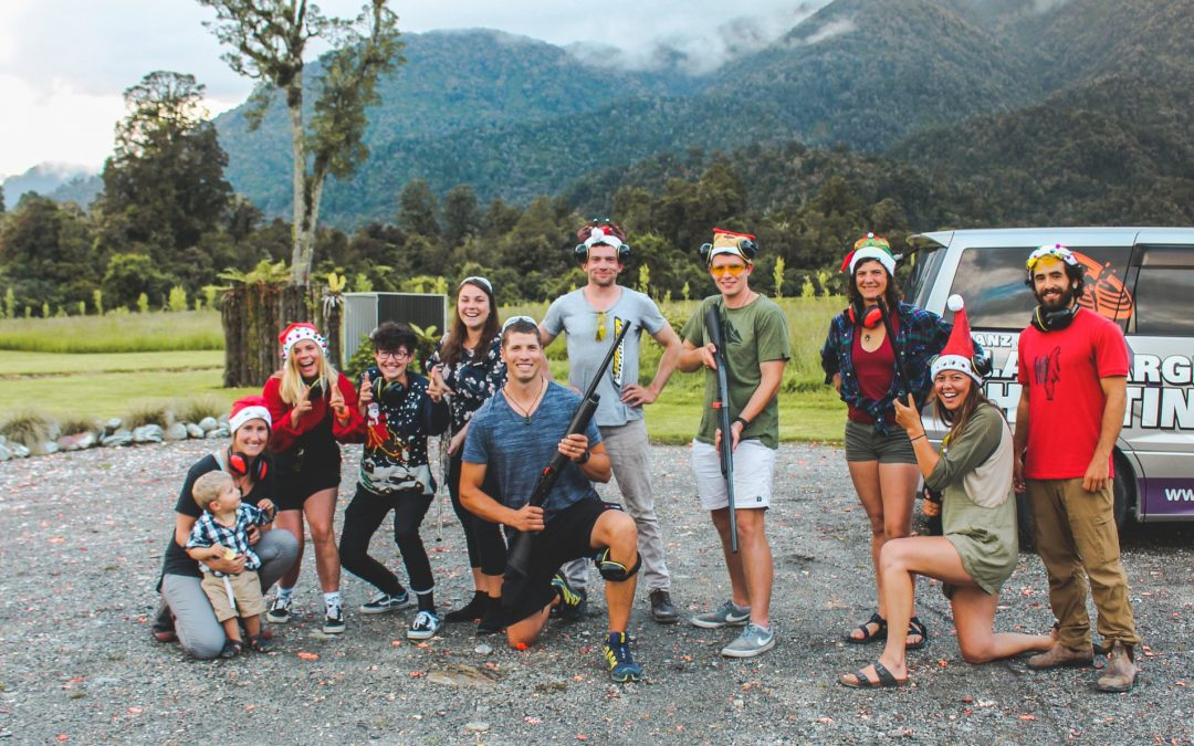 Glacier Kayaks Summer 2018/19 Team