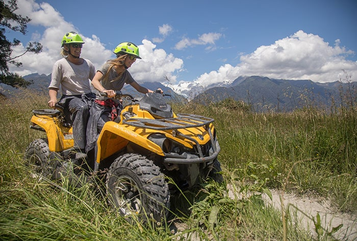 Kayak and Quad Bike tour Franz Josef Glacier Country Kayaks-min