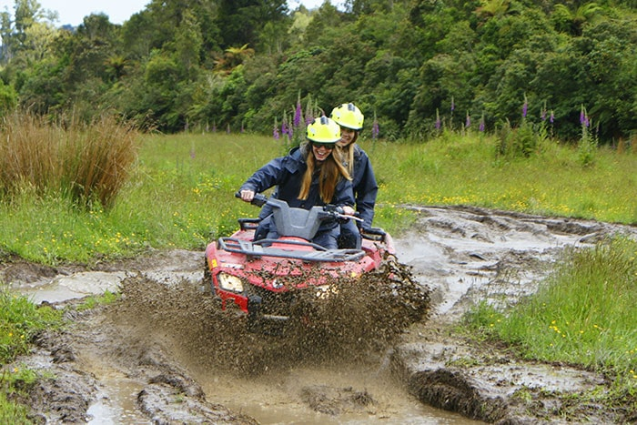 Quad Bike and Mud